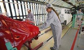Výroba v kolínské továrně TPCA, ilustrační foto