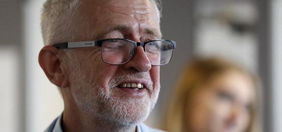 Lídr Labouristické strany Jeremy Corbyn