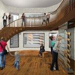 Tak by měl po rekonstrukci vypadat lovecký salon.