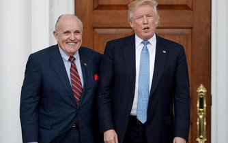 Rudy Giuliani a Donald Trump