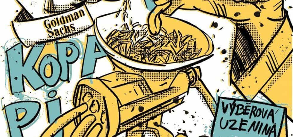 Esej: Sedmadevadesát centů důvěry, ilustrace