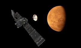 Experimentální modul Schiaparelli u Marsu
