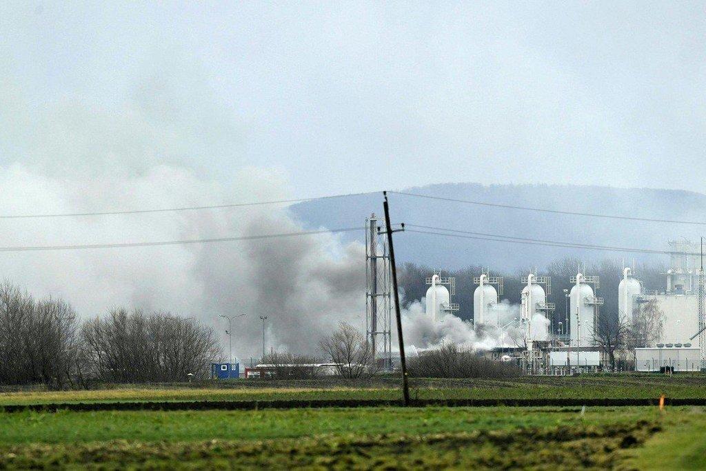 Baumgartenský terminál je důležitým skladištěm a uzlem pro distribuci zemního plynu přicházejícího do Rakouska z Ruska a Norska