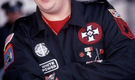 Příslušník Ku Klux Klanu, ilustrační foto