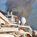 Emise lodí, ilustrační foto