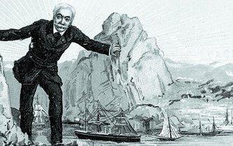 Suezský průplav, ilustrace