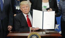 Donald Trump s exekutivními příkazy, které zakazují vstup do USA ze 7 muslimských zemí