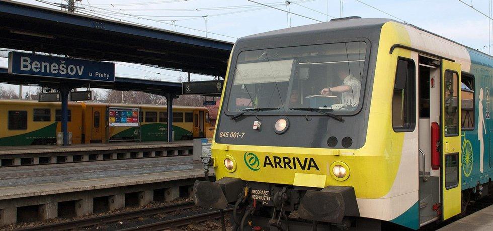 Linka společnosti Arriva do Benešova