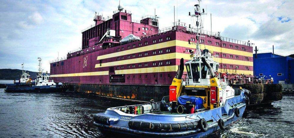 Rusko chce letos v létě vypravit loď Akademik Lomonosov se dvěma malými reaktory KLT-40 do přístavu Pevek