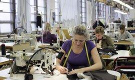 Textilní výroba, ilustrační foto