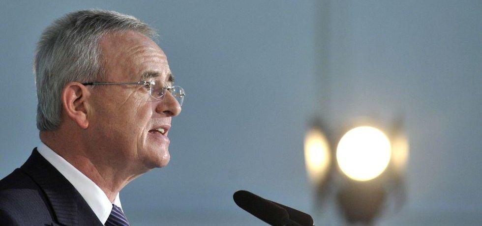 Bývalý šéf Volkswagenu Martin Winterkorn, archivní foto
