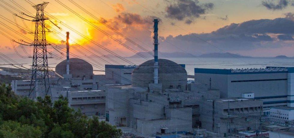 Čínská jaderná elektrárna Taišan.