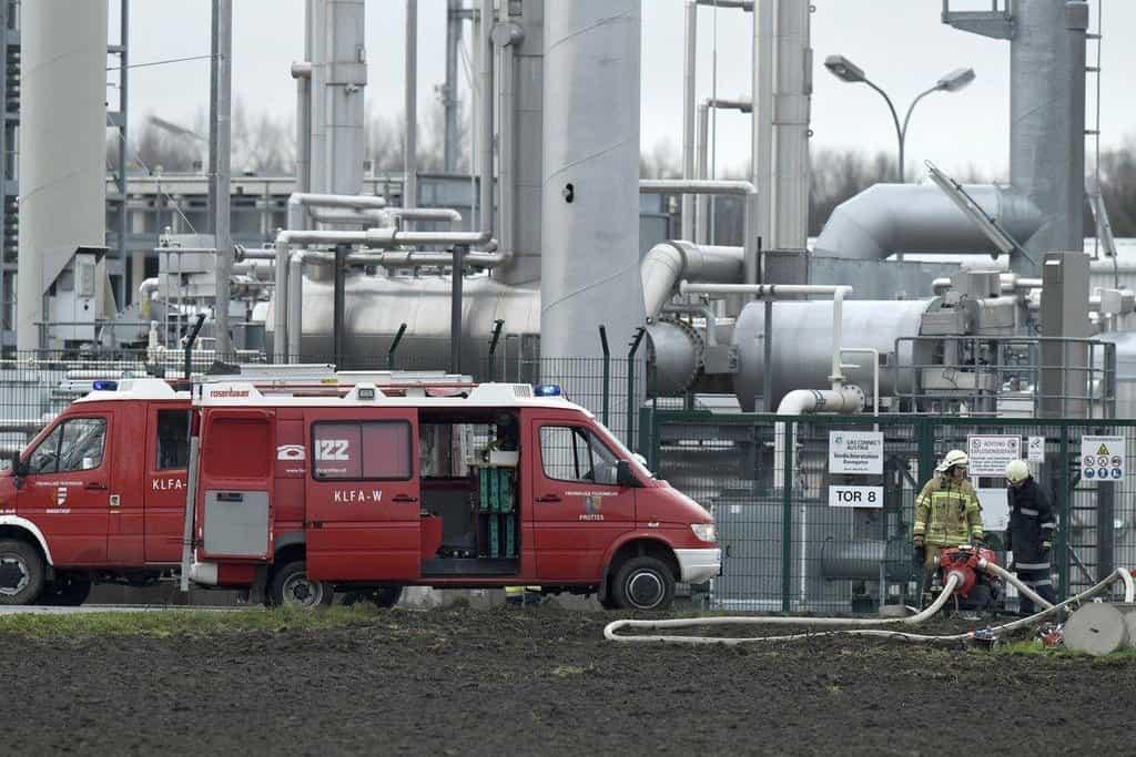 Plynový terminál v Baumgartenu kontroluje z 51 procent rakouská energetická skupina OMV. Odehrává se tu přejímání, měření a zkoušení plynu z Ruska, Norska a dalších zemí a je tu připravován pro další transport.