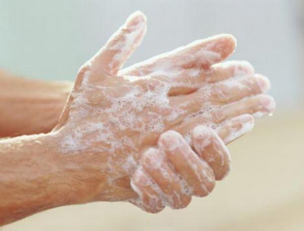 ruce, hygiena, mýdlo