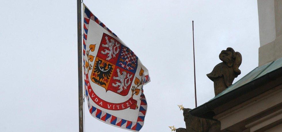 Prezidentská zástava