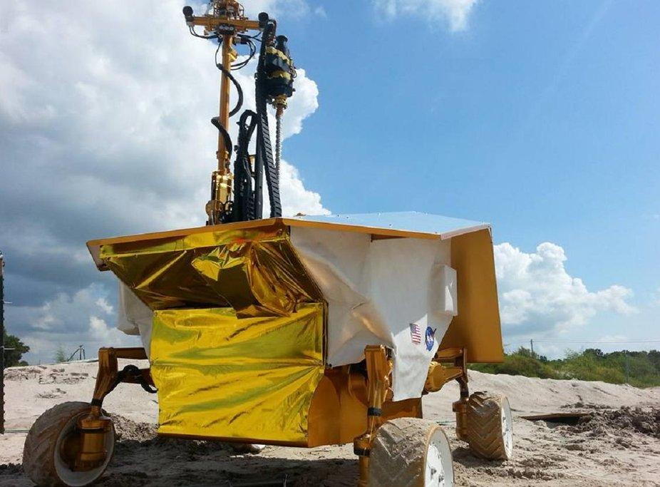 Prototyp lunárního džípu Resource Prospector.