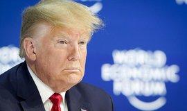 Amerika opět vítězí, prohlásil Trump v Davosu. USA prý zažívají nevídaný hospodářský rozmach