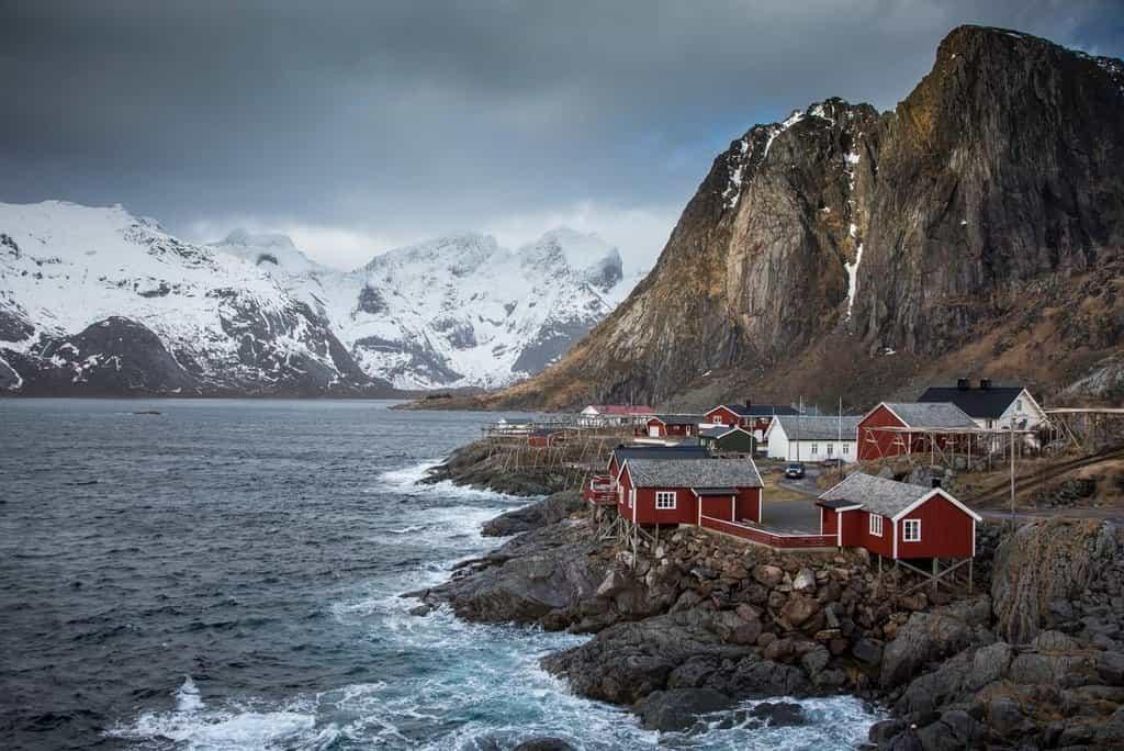 Norská idyla. I v takovém stylu mohou norští senioři za peníze NBIM trávit svůj důchod.