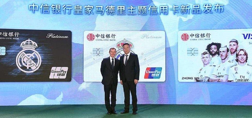 Real Madrid navázal spolupráci s China CITIC Bank. V jejím rámci vznikne speciální kreditní karta pro fanoušky klubu