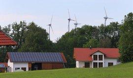 Vesnice Wildpoldsried v Bavorsku, kde se daří obnovitelným zdrojům.