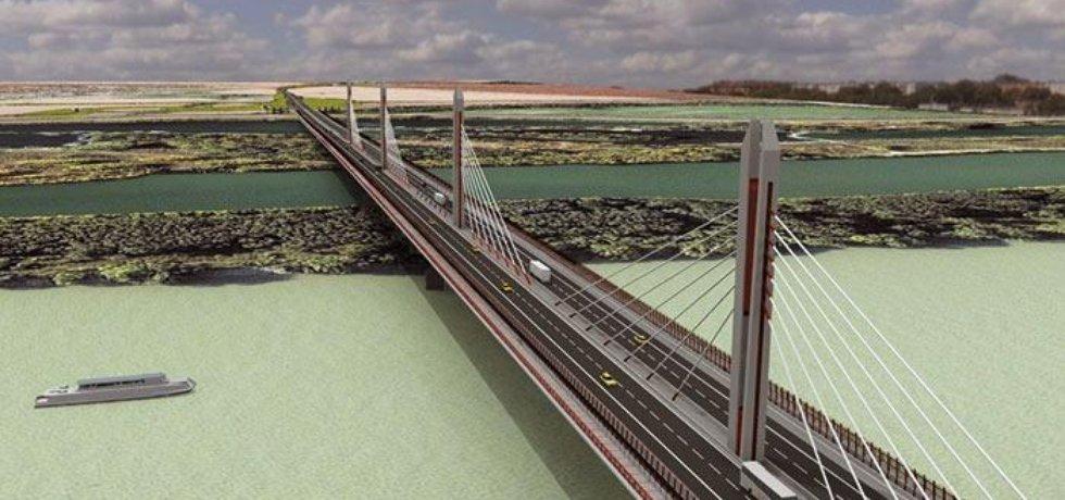 Most přes Dunaj - součást nultého obchvatu (Autor:investor)