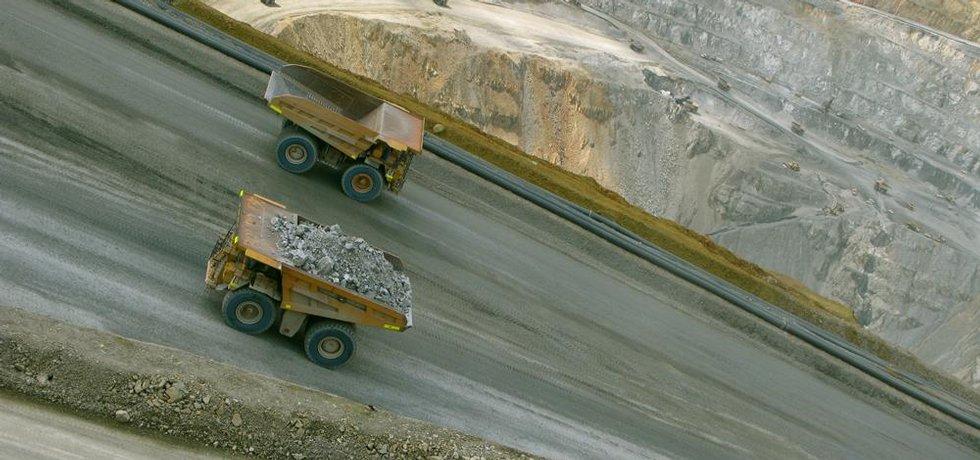 Těžba zlata - ilustrační foto