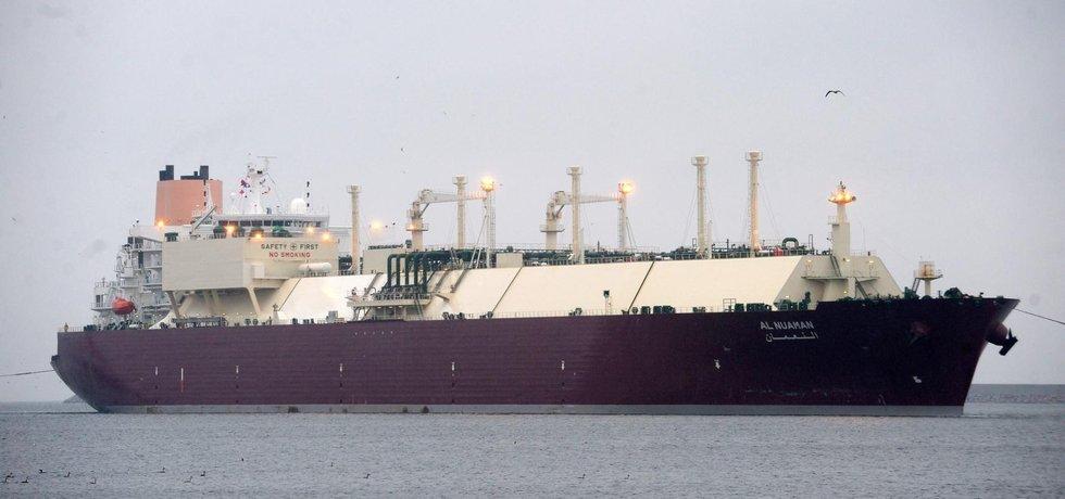 tanker na LNG