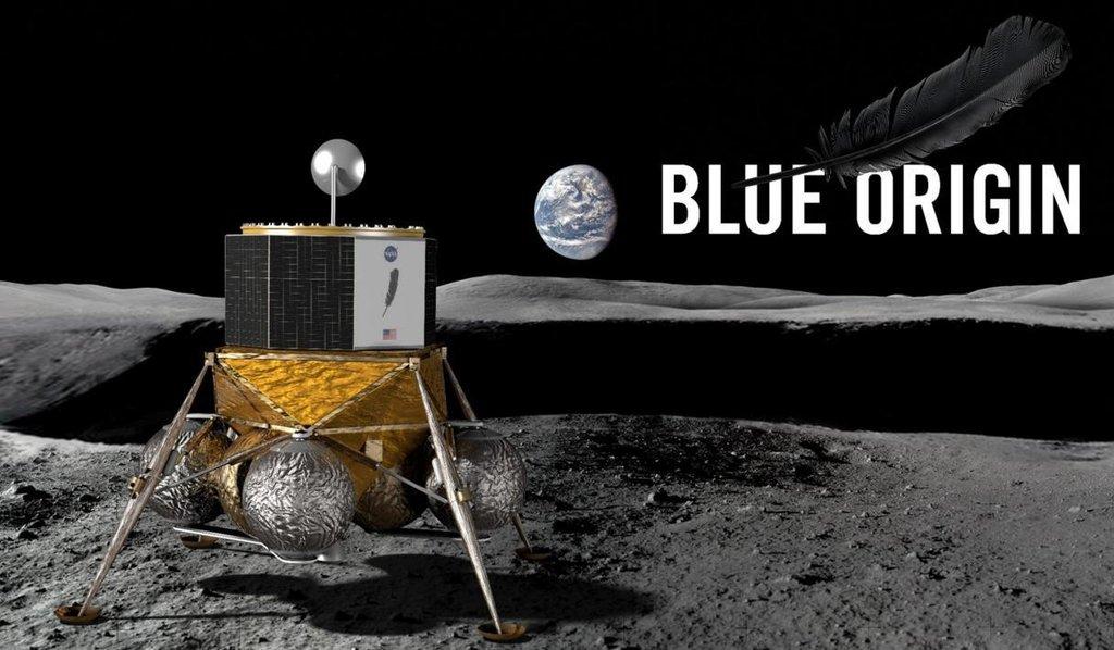 Projekt Jeffa Bezose Blue Moon.