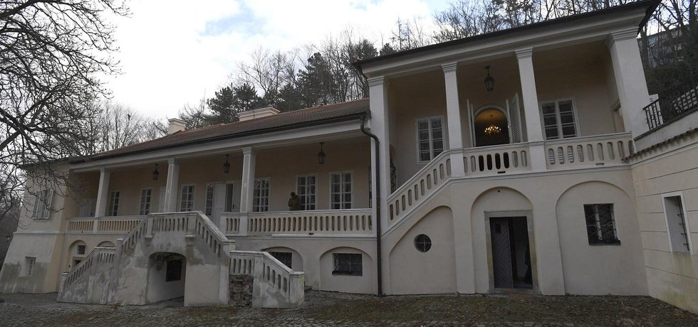 Vila Bertramka v Praze