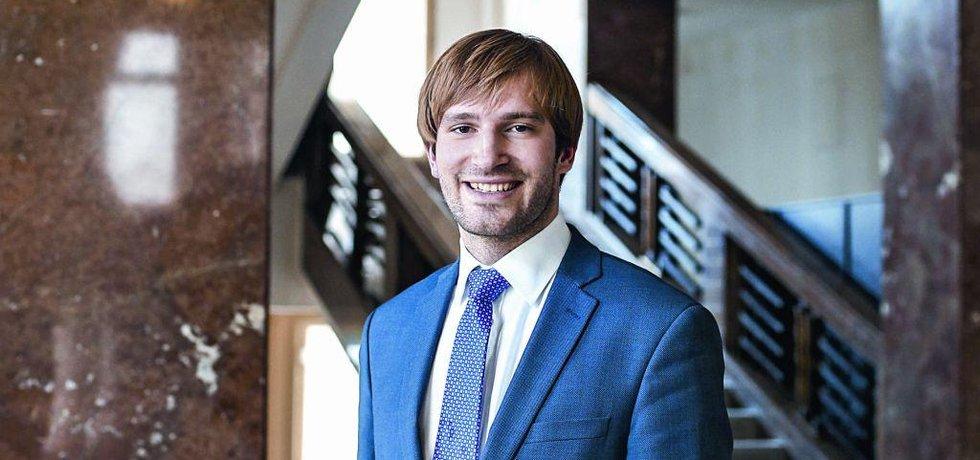 Náměstek ministra financí Adam Vojtěch (ANO 2011)