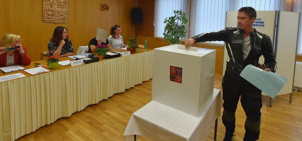 Volební místnost - ilustrační foto
