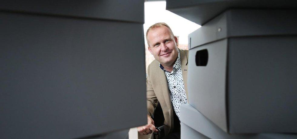 David Ježek, hlavní inženýr připravované trati na pražské letiště