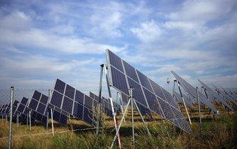 Solární elektrárna - ilustrační foto