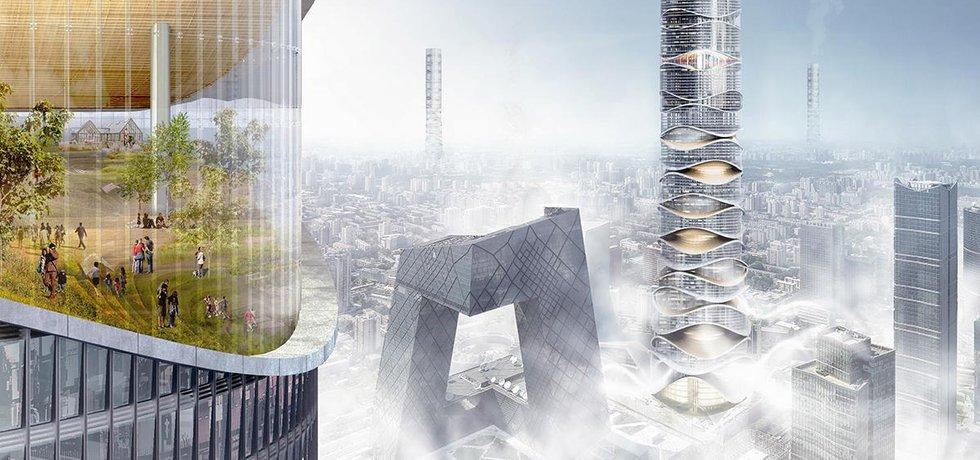 Na druhé příčce se umístili polští architekti Klaudia Gołaszewska a Marek Grodzicki s budovou Airscraper. Konstrukce budovy je navržena tak, že umožňuje čištění vzduchu, který má být nasáván u paty budovy a následně filtrován uvnitř dutého jádra stavby. Proudění vzduchu má také pomoci ochlazovat okolí mrakodrapu.