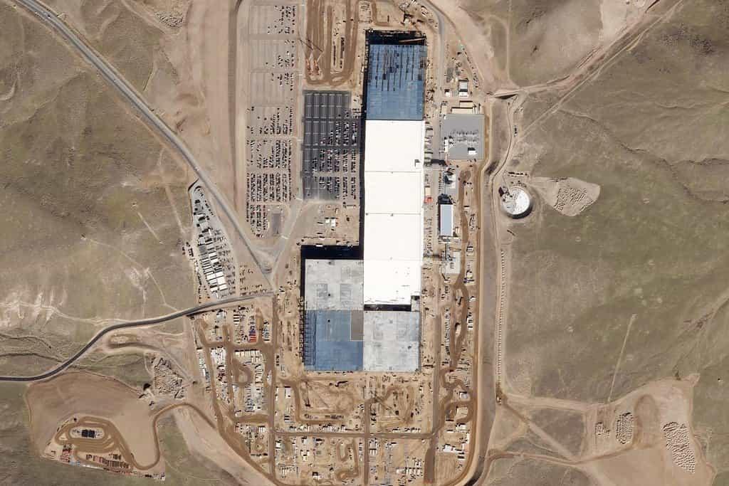 Tesla Gigafactory, Sparks, Nevada. 10. listopad 2016
