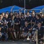 Vítězný německý tým z Technické univerzity v Mnichově, jehož WARR vyvinul v závodu Hyperloop rychlost 324 km/h