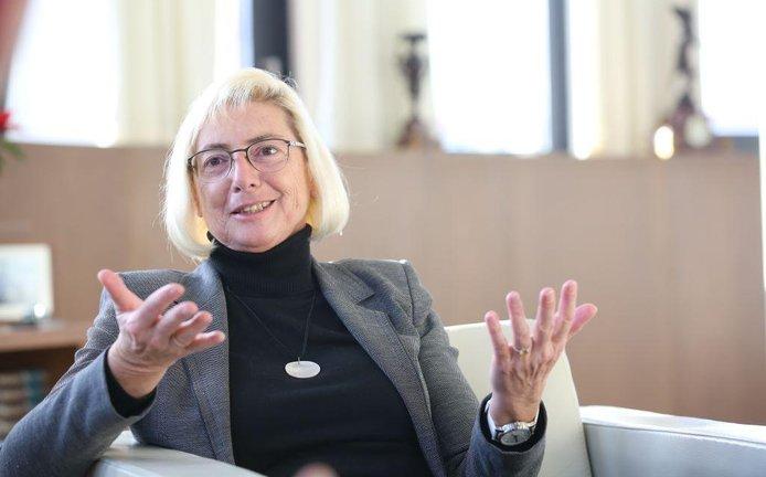 Šéfka pojišťovacího koncernu VIG Elisabeth Stadlerová