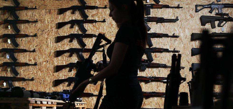 AK-47 na zdi