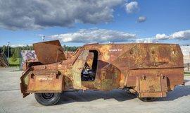 Obrněný vůz, ilustrační foto