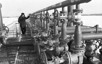 Ropovod na Sibiři