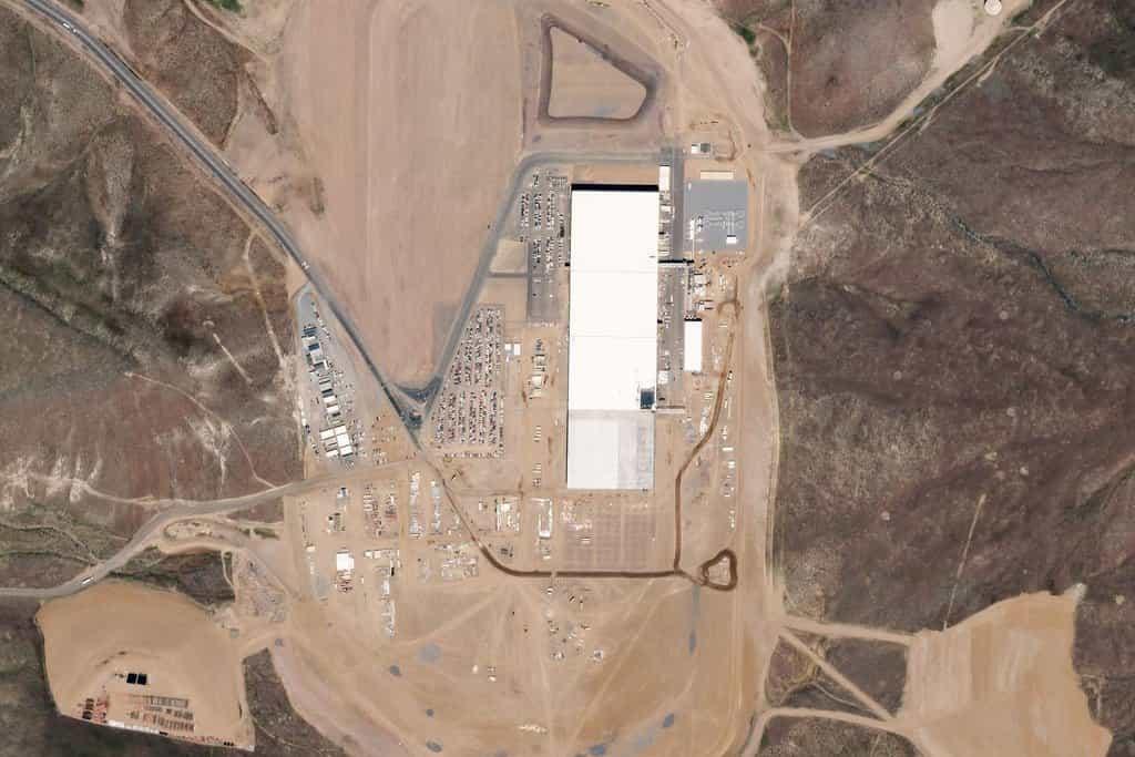 Tesla Gigafactory, Sparks, Nevada. 11.květen 2016