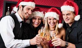 Vánoční oslava, ilustrační foto
