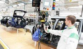 Výroba aut v koncernu Volkswagen, ilustrační foto