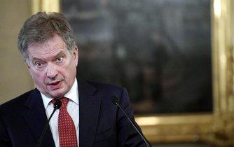 Finský prezident Sauli Väinämö Niinistö usiluje jako Miloš Zeman o znovuzvolení.