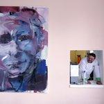 Bývalý šéf ČEZ Martin Roman kupuje díla především mladých výtvarníků. Většina jeho sbírky visí na chodbách gymnázia PORG. Na snímku obraz Elišky Jakubíčkové z roku 2007.
