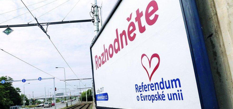 Billboard Referendum o EU