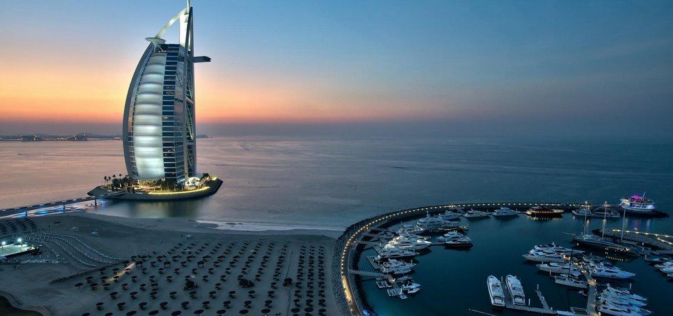 Dubajský hotel Burdž al Arab