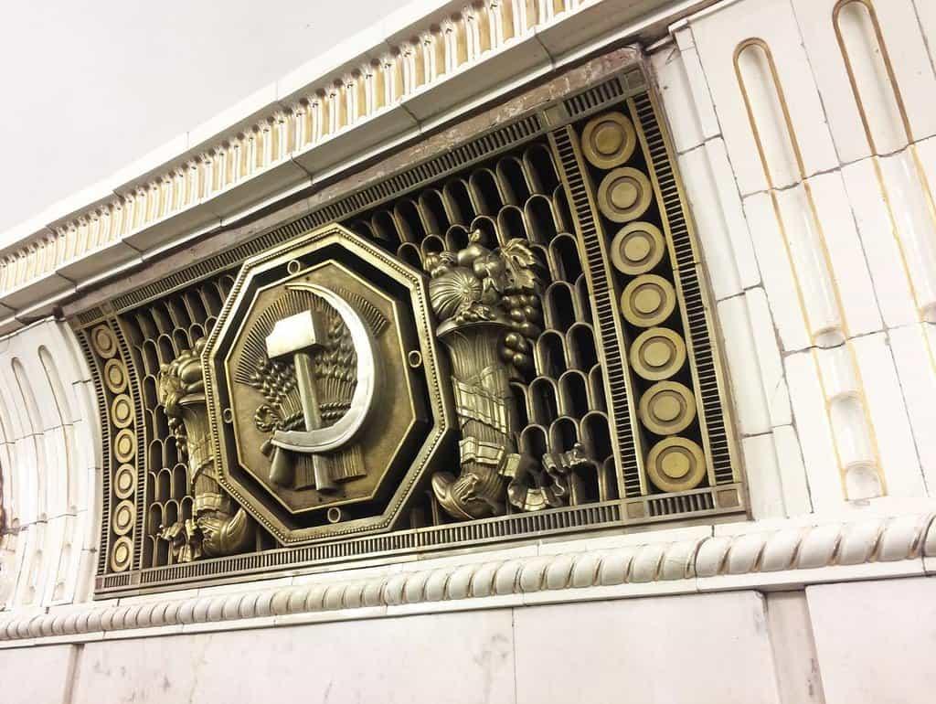 Podstatná část moskevského metra vznikala za tuhého stalinismu.