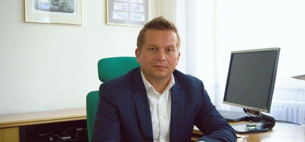 Generální ředitel Státní tiskárny cenin Tomáš Hebelka