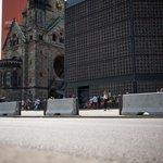 Bezpečnostní zábrany v německém Berlíně